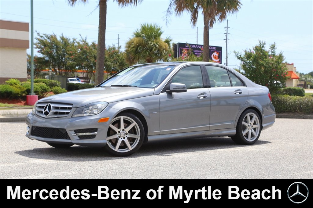 Pre-Owned 2012 Mercedes-Benz C-Class C 350