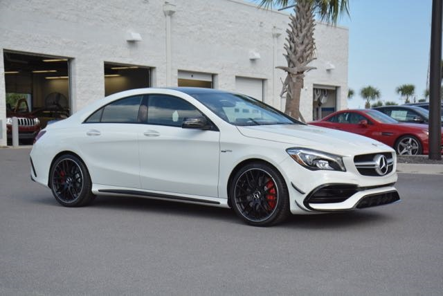 Superb New 2018 Mercedes Benz CLA AMG® CLA 45 Coupe